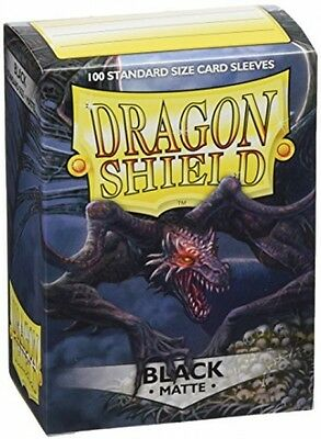 Dragon Shield Standard Sleeves (Matte Black)