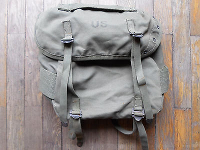 us army M 56 1956 butt field od green alice pack OG107 vietnam canvas