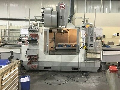 2008 Haas VF4 4th & 5th Axis Ready Loaded with Tooling and More From Aerospace