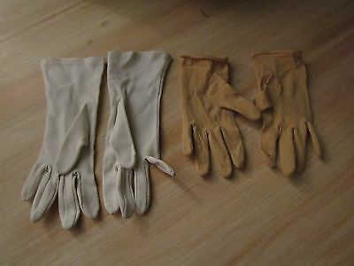 2 Pairs Of Vintage Ladies Gloves