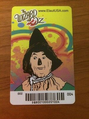 Scarecrow Elaut Card Wizard of Oz D&B Dave & Busters