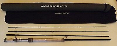 "Beulah Switch 4/5wt 10' 6"" 4 piece  carbon fly rod was £265 now £155"