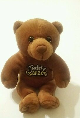 Teddy Grahams Bear Brown Cereal Advertising Stuffed Animal Plush Unisex Toy Bear
