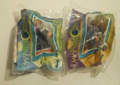 1998 Burger King Happy Meal Toys Lot of 2 90's Plastic Burger King Fast Food Toy