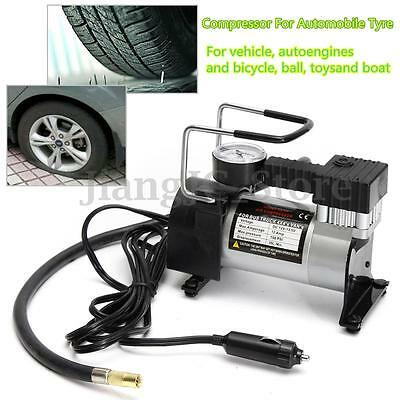 Electric 12V Car Auto Air Compressor Pump Tyre Tire Inflator 150PSI With Gauge