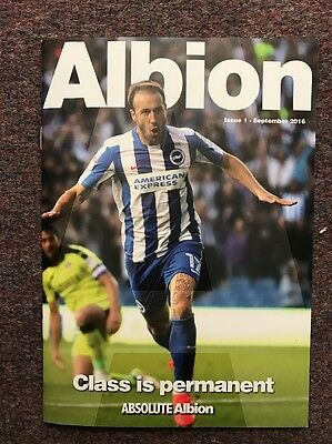 The Albion Mag Issue 1 2016/17 Season
