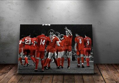 NEW Liverpool 'Legends' Wall Canvas A3