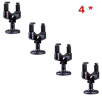 4PCS Electric Guitar Wall Hanger Holder Stand Rack Hook Mount for All Size