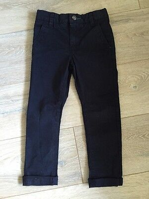 Boys Navy Chino Trousers Next Age 5