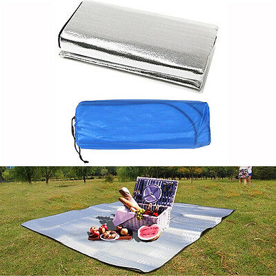 Waterproof Outdoor Camping Picnic Sleeping Mattress Pad  Aluminum Foil EVA Mat