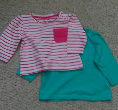 Mothercare 3-6 Months Tops Long Sleeve Girls Ex Condition