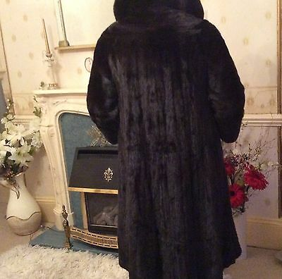 Ladies Mink Coat  Blackglama, Zwirn of London Vintage size 12-14 REDUCED !!