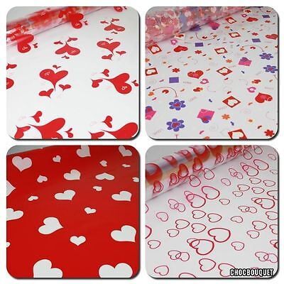 Valentines Cellophane, Wrapping kit & Pull Bows