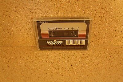 Guardians of the Galaxy Awesome Mix Vol. 1 NEW & SEALED cassette