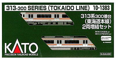 N-scale 10-1383 JR Suburban Train Series 313-300 Tokaido Line 2 Expansion Set