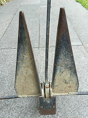 7.5 KG SAND BOAT ANCHOR - GALVANISED STEEL - Shed Clean Out