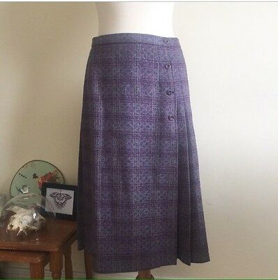 Vintage 100% Wool Skirt Size 12