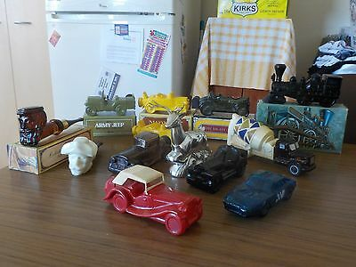 AVON - COLLECTIBLES - ( Some Full , Some with Boxes )