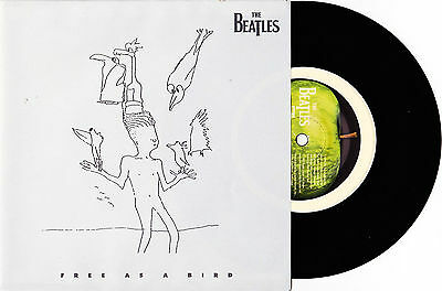 """The Beatles - Free As A Bird / Christmas Time - 7"""" US Vinyl 45 - New & Unplayed"""