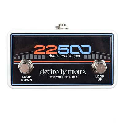 Electro Harmonix 22500 Foot Controller for Dual Stereo Looper (Tatty Box)