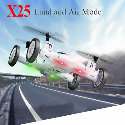 X25 2.4G 8CH 6-Axis Speed Switch 3D Flips RC Quadcopter Drone Car Toy No Camera