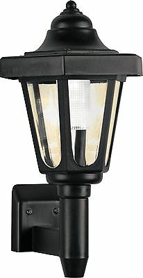 HOME Solar Outdoor Wall Light - Black. From the Official Argos Shop on ebay