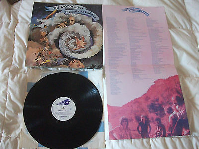 THE MOODY BLUES A QUESTION OF BALANCE lp vinyl ROCK  1ST RELEASE - EXC+