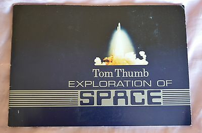 Tom Thumb Cigar Cards - Exploration Of Space - Complete In Album