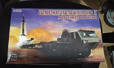 Model Collect 1/72 UA72077 M983 Hemtt Tractor w/Pershing II Missile Launcher