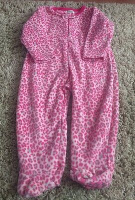 Girls Fleece sleepsuit, age 2-3, Never worn