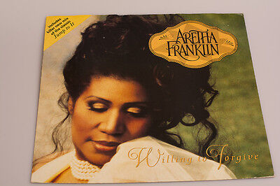 """12"""" Vinyl record Aretha Franklin """"Willing to Forgive"""""""