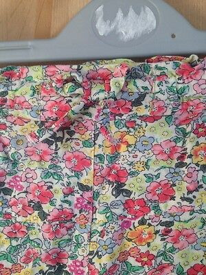 Girls Next Flower Print Trousers age 4-5  Never Worn