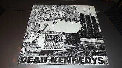 """Dead Kennedys Kill The Poor 7"""" Cherry Red Records"""
