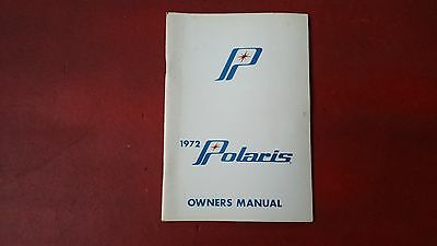 1972 Polaris Colt, Charger, Mustang and ATX Owners Manual - NOS