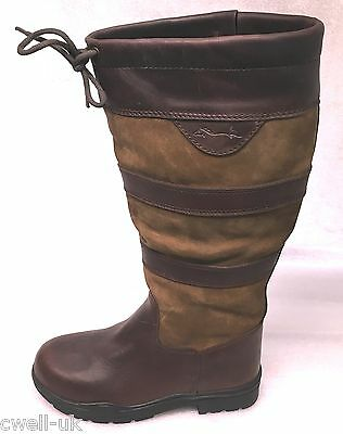 Shires Charlbury Long Boot Leather Waterproof Country Boot UK 10 EURO 45 REGULAR