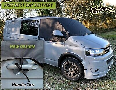 VW T5 Window Screen Cover Wrap Black Out Blind Frost Camping *3 FREE Step Mats*