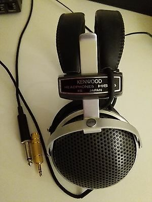 Kenwood HS-5 Deluxe Headphones 150Hz – 4kHz •Maximum Input: 200 mW at 1kHz
