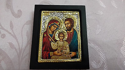 Vintage 925 Silver and Gold Plated Precise Copy of Byzantine Religious Icon