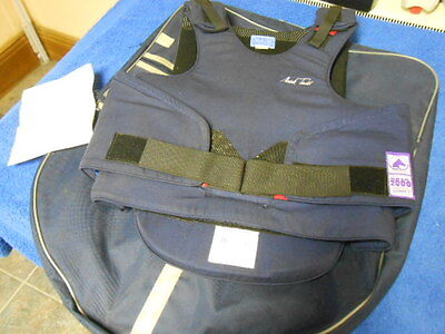 Mark Todd Body Protector + Carry Bag -  Child X Large - NWT