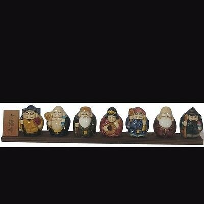 The Seven Lucky Gods of Fortune 7 Lucky Gods Figurines Japanese Folklore