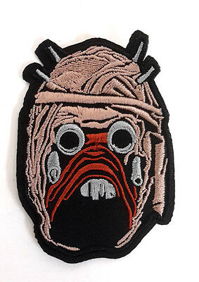 "Star Wars Tuscan Raider Head  3.5""  Embroidered Patch- FREE S&H (SWPA-FC-43)"