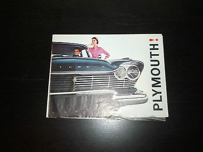 Vintage 1960's Plymouth Station Wagon Dealers Brochure