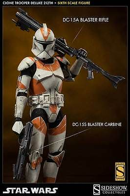 Sideshow Star Wars Clone Trooper Deluxe 212th Attack Battalion 1/6 Scale Figure