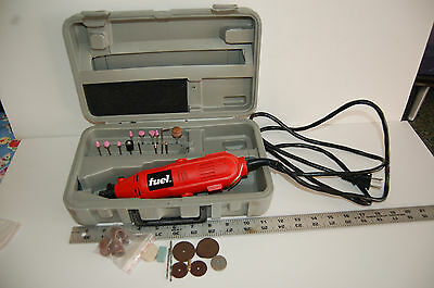 Rotary tool Dremel type, Fuel Milwaukee tool, w/accessories & case 6ft cord.