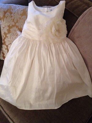 Bridesmaid Special Occasion Ivory Girls Dress Age 5/6yrs