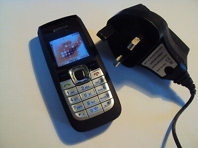 Simple Easy Pensioner Elderly Nokia 2610   Mobile Phone On Tesco  +Charger