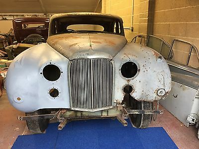 Jaguar MK8, 1957, Manual with overdrive, In need of restoration.