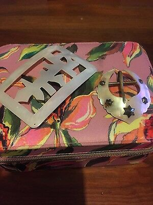 victorian/edwardian mother of pearl belt buckles large stunning