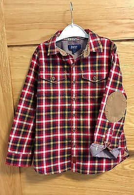 Ted Bakers Boys Shirt Age 7 Cotton