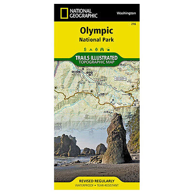 National Geographic Olympic National Park #216